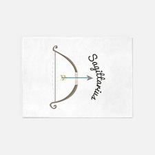 Sagittarius Astrology 5'x7'Area Rug