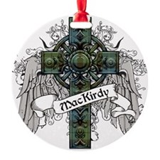 MacKirdy Tartan Cross Ornament