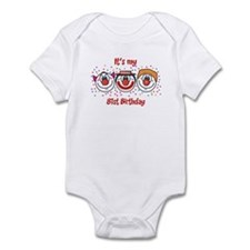 Its my 81st Birthday (Clown) Infant Bodysuit