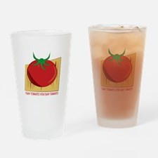 Tomato Tamato Drinking Glass