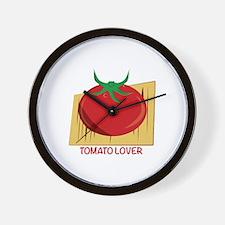 Tomato Lover Wall Clock