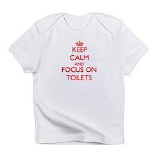 Cute Toilette Infant T-Shirt