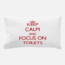 Cute Toilette Pillow Case