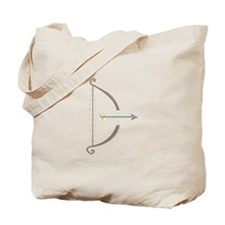 Bow and Arrow Tote Bag