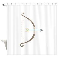 Bow and Arrow Shower Curtain