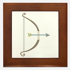 Bow and Arrow Framed Tile