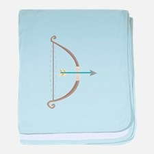 Bow and Arrow baby blanket