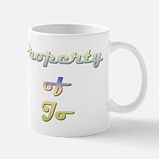 Property Of Jo Female Mug