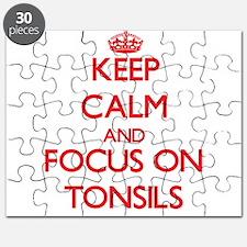 Cute Tonsillitis Puzzle