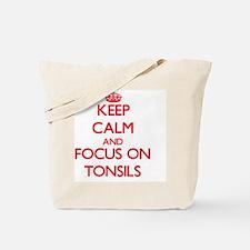 Cute Tonsillitis Tote Bag