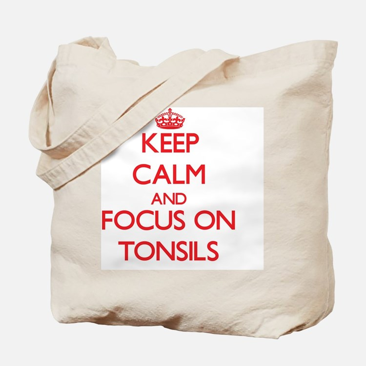 Cute Tonsils Tote Bag