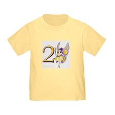 Girls 2nd Fairy Birthday T