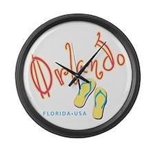 Orlando - Large Wall Clock
