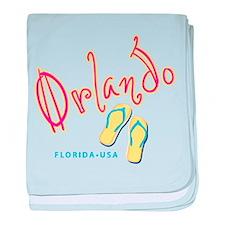 Orlando - baby blanket