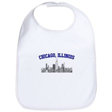 Chicago, Illinois Skyline Bib