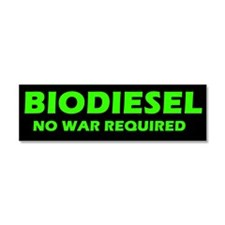Cute Biodiesel bumper Car Magnet 10 x 3