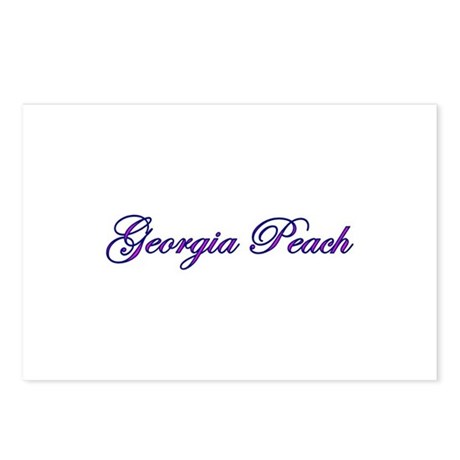 Georgia Peach Postcards (Package of 8)