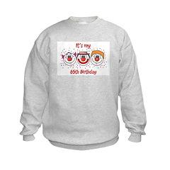 Its my 65th Birthday (Clown) Sweatshirt