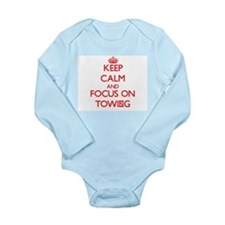 Keep Calm and focus on Towing Body Suit