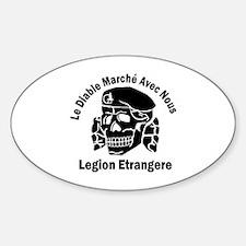 Funny Legion Sticker (Oval)