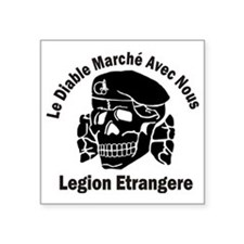"""Cute Legion etrangere Square Sticker 3"""" x 3"""""""