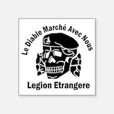 """Unique Legion Square Sticker 3"""" x 3"""""""