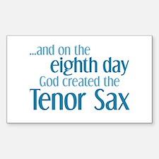 Tenor Sax Creation Decal