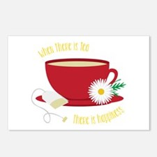 Tea Is Happiness Postcards (Package of 8)