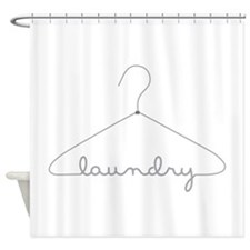 Laundry Hanger Shower Curtain