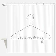 Laundry Hanger Shower Curtain