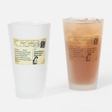 Post Office complaint humor Drinking Glass