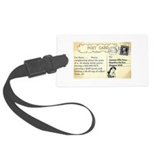 Post Office complaint humor Luggage Tag
