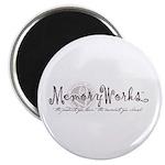 MemoryWorks Logo Magnet
