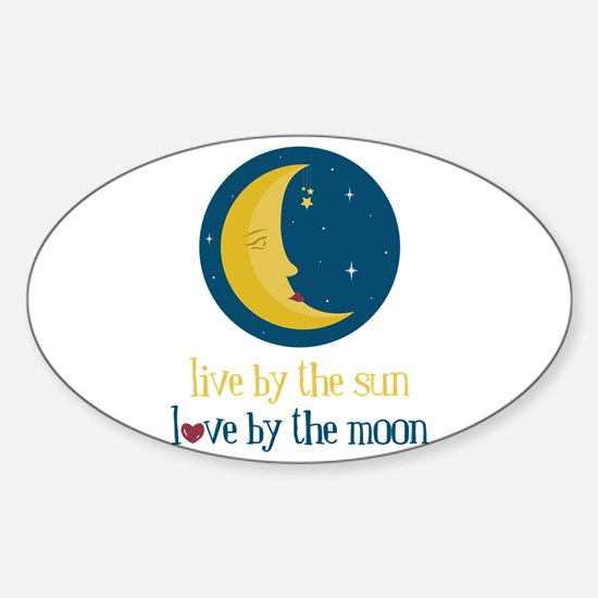 Love By The Moon Decal