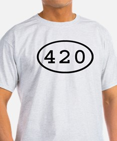 420 Oval T-Shirt