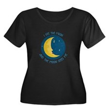 I See The Moon Plus Size T-Shirt