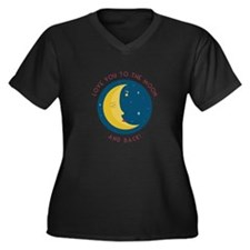 Love You To The Moon Plus Size T-Shirt
