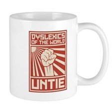 Dyslexics of the World UNTIE Mugs