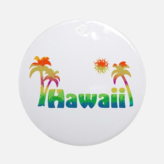 Hawaii (Sketch) Ornament (Round)