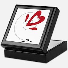 Heart Path Keepsake Box