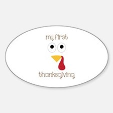 My First Thanksgiving Decal