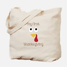 My First Thanksgiving Tote Bag
