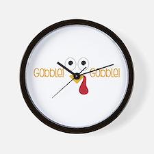 Gobblel Gobblel Wall Clock