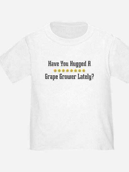 Hugged Grape Grower T