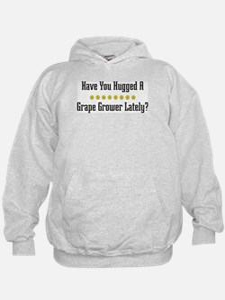 Hugged Grape Grower Hoodie