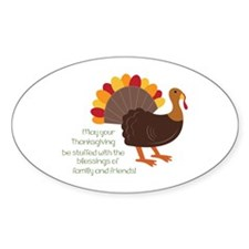 May Your Thanksgiving Decal