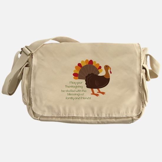 May Your Thanksgiving Messenger Bag