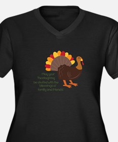 May Your Thanksgiving Plus Size T-Shirt