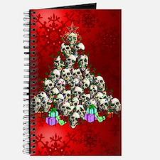 Merry Christmas Skulls Journal