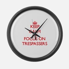 Funny Tres Large Wall Clock